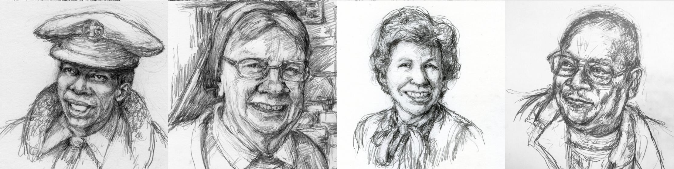 Drawings by RA Friedman